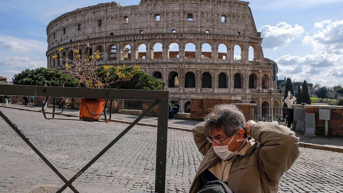 Coronavirus: Italia registró un récord de 627 muertos en un día