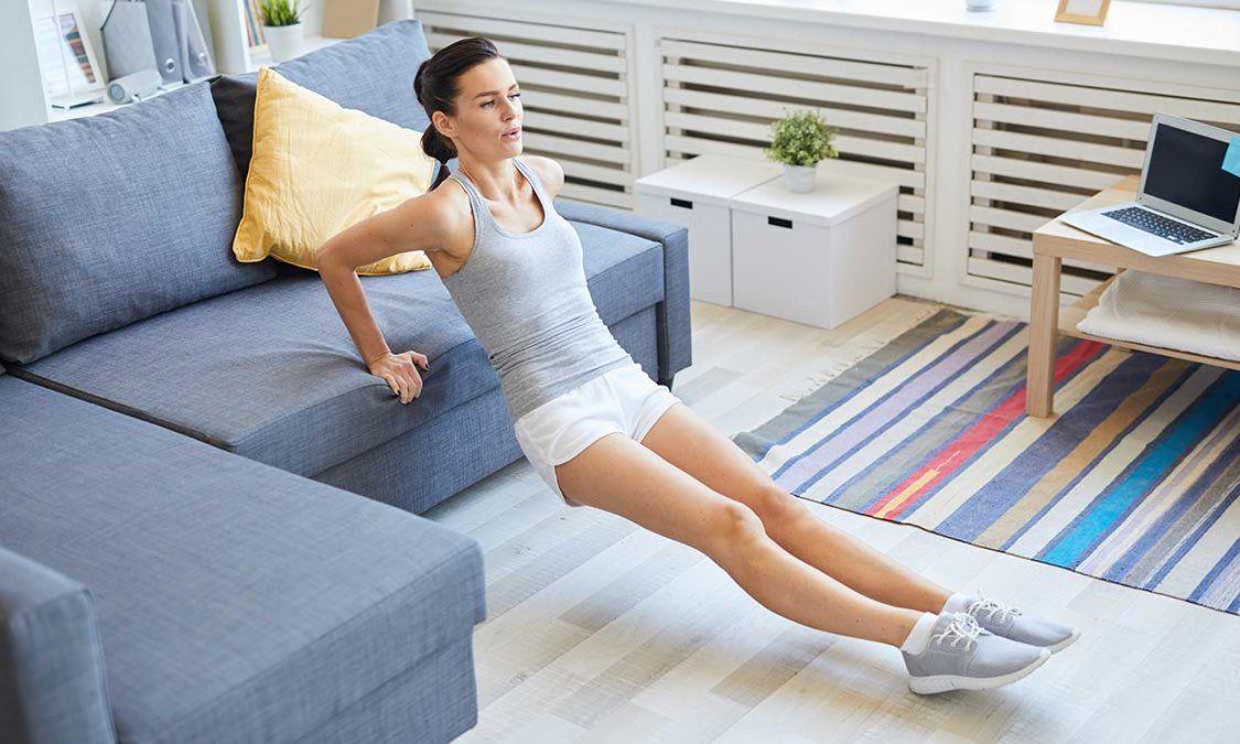 Rutina de ejercicios perfecta para hacer en casa durante la cuarentena