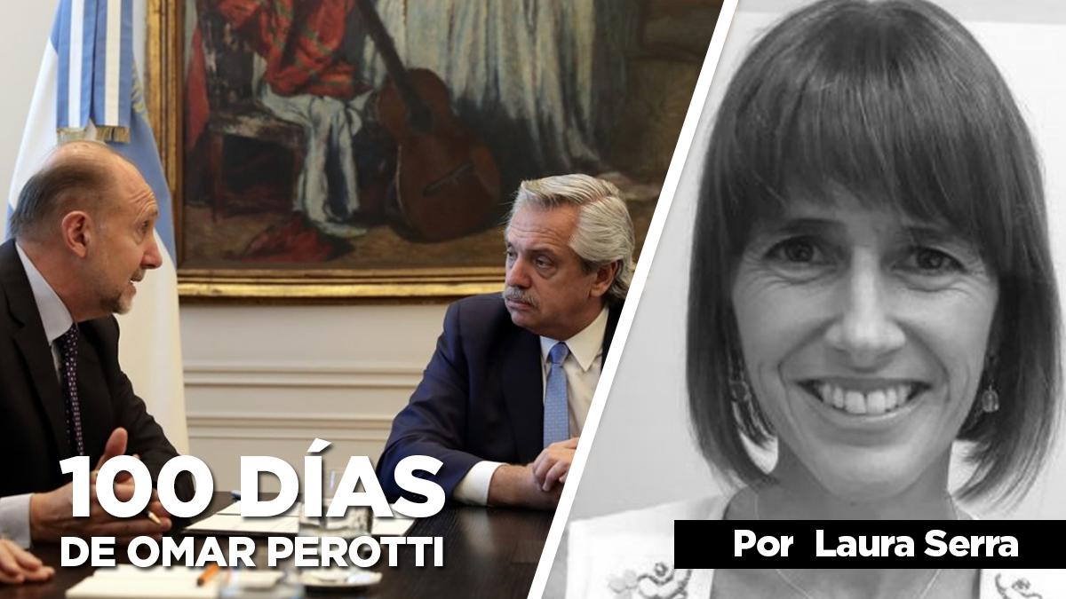 Los 100 primeros días de Perotti vistos desde la Casa Rosada