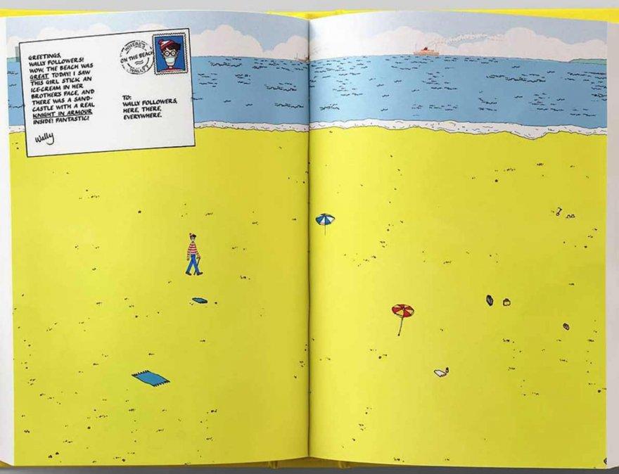 Así lucirían las ilustraciones de ¿Dónde esta Wally? en tiempos de cuarentena