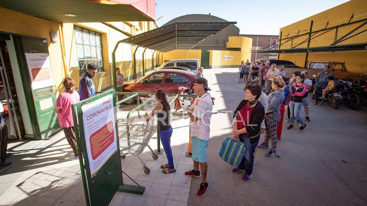 En fotos: así se vivió el primer día de cuarentena obligatoria por coronavirus en Santa Fe
