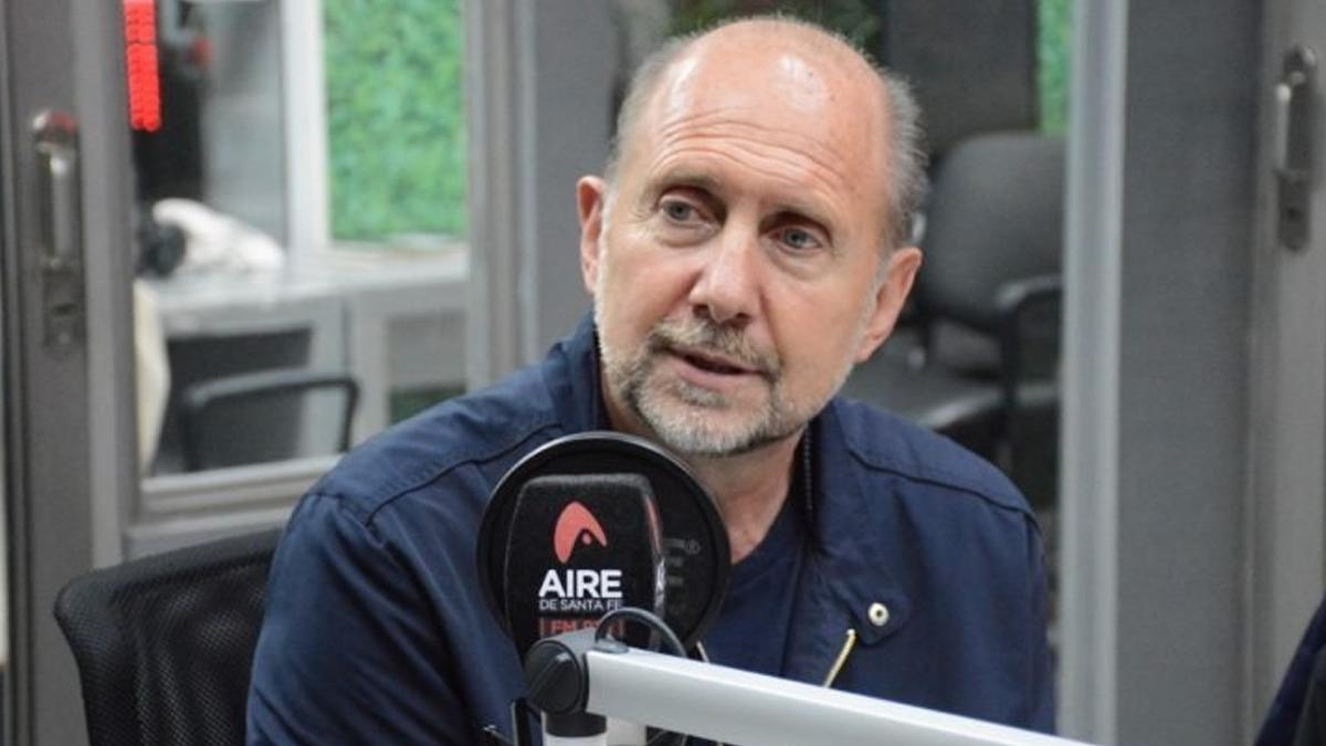 Omar Perotti: Nuestra meta es que tengamos que llorar lo menos posible
