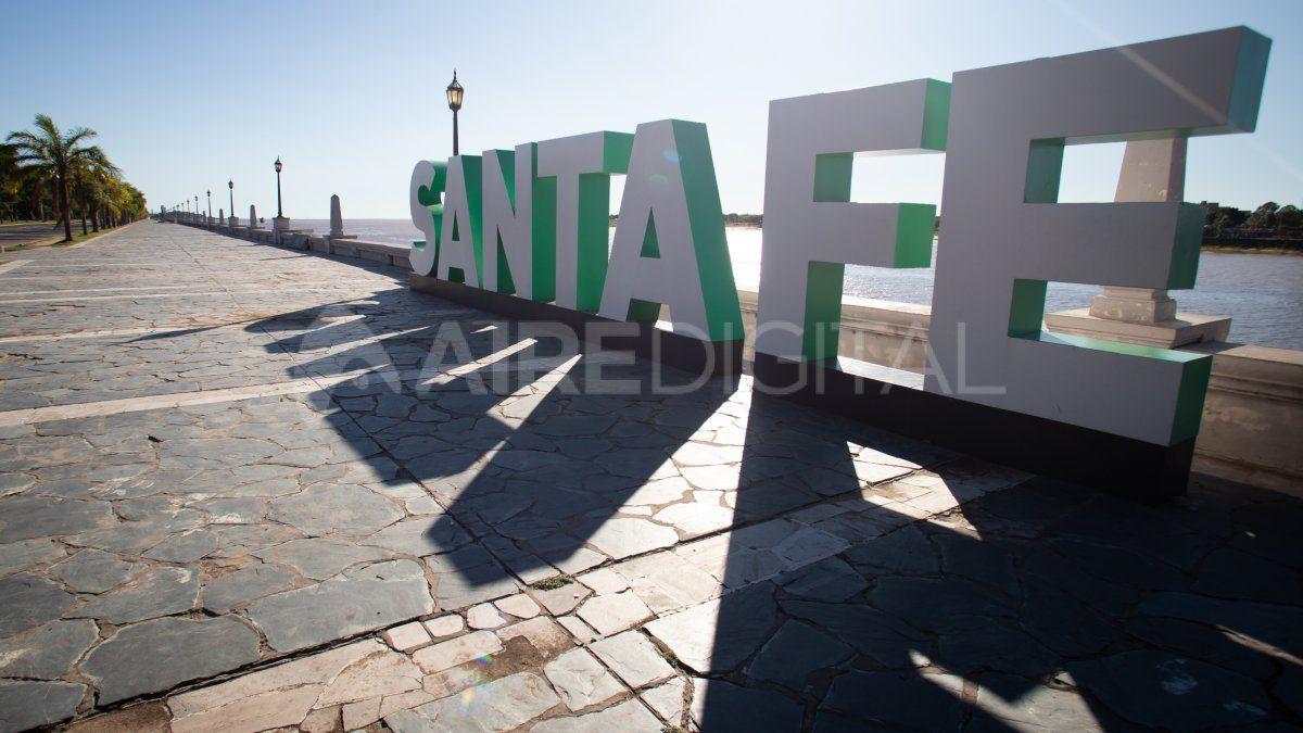 Las imágenes de la cuarentena en la ciudad de Santa Fe