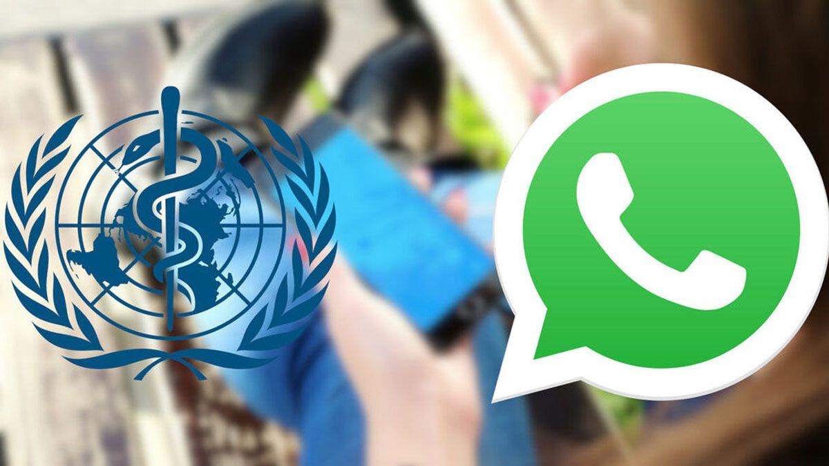WhatsApp y la OMS habilitan un chat para que te informes sobre el coronavirus