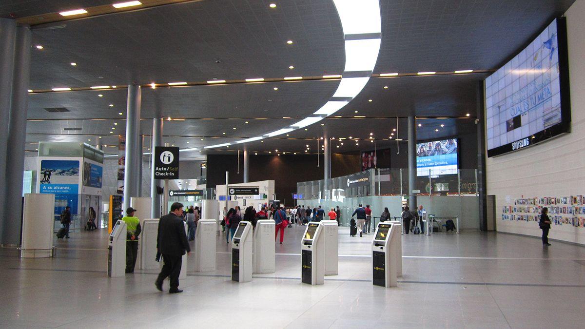 Aeropuerto Internacional El Dorado. Bogotá