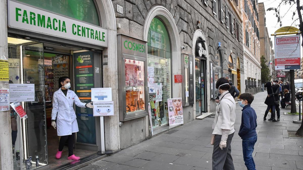 Italia es el país con más muertes en el mundo por coronavirus.