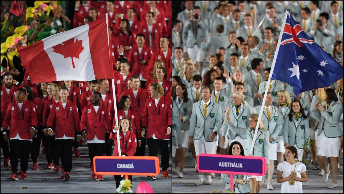 Canadá y Australia se bajaron de los Juegos Olímpicos de Tokio de este año