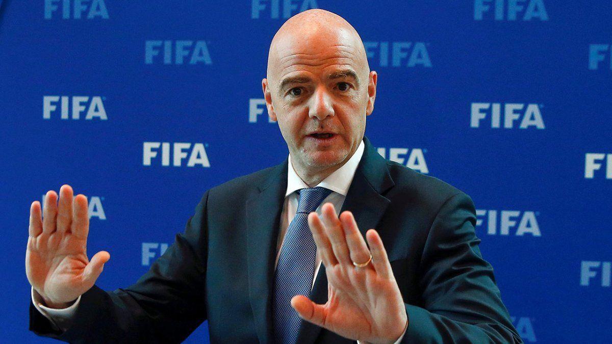 Infantino, presidente de FIFA: No sabemos cuándo volveremos a la normalidad