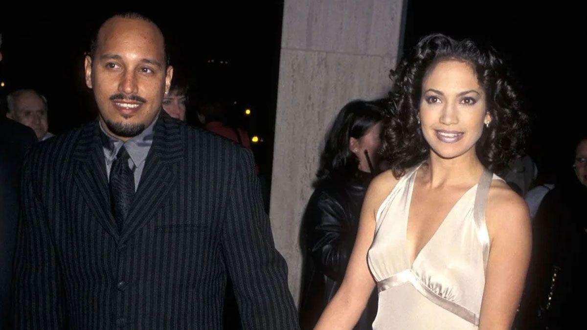 Jennifer Lopez y David Cruz en 1995
