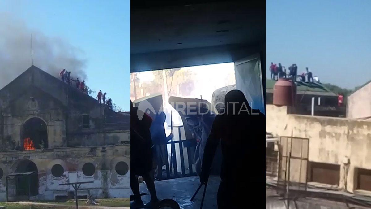 Los videos de los motines en las cárceles santafesinas