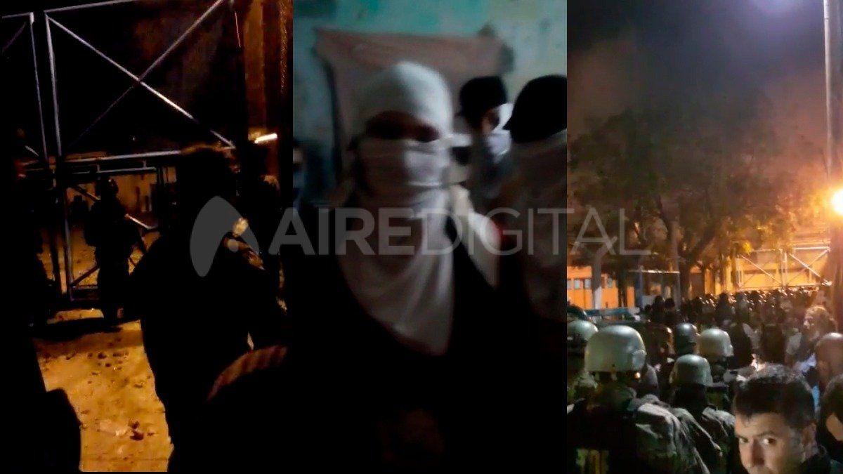 Dos muertos y varios heridos en la cárcel de las Flores tras un conflicto que duró toda la noche