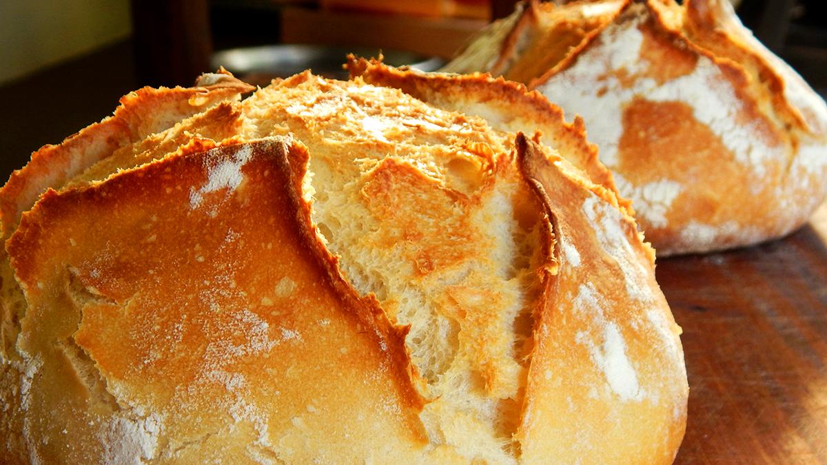 Receta de Pan casero facilísimo y barato para hacer en casa