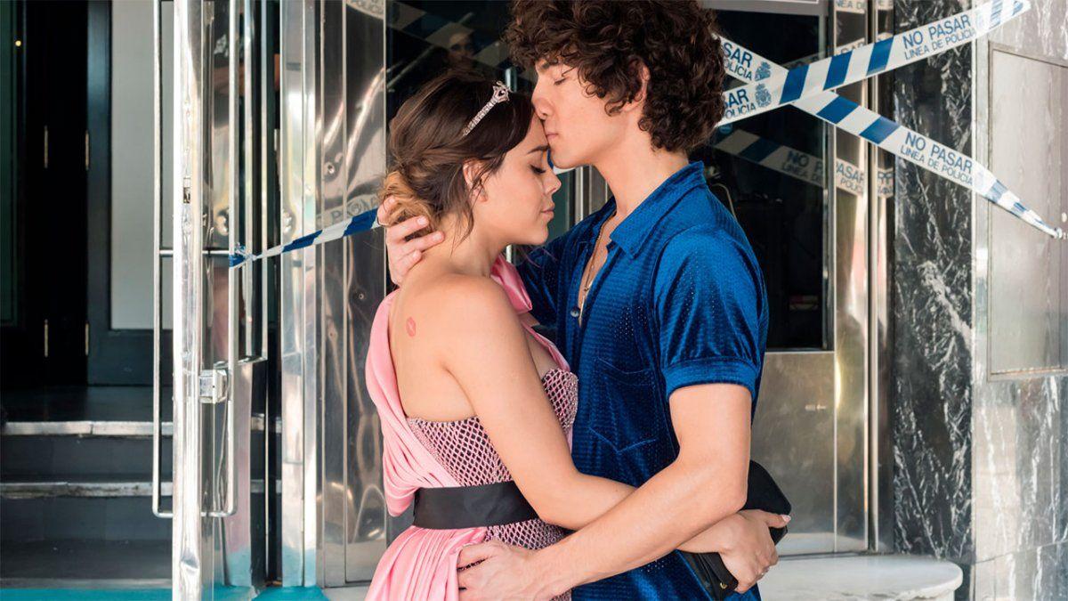 Lu y Valerio de Élite reavivan los rumores de un romance