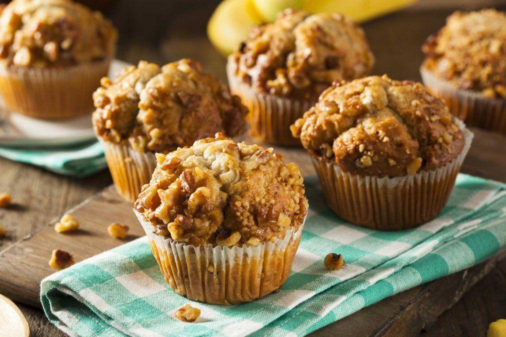 Muffins de coco, una receta rápida para disfrutar el desayuno