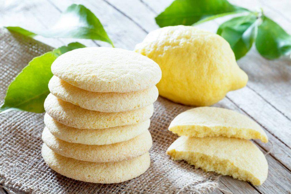 Galletitas de limón para la cuarentena: harina, azúcar y huevo ¡nada mas!