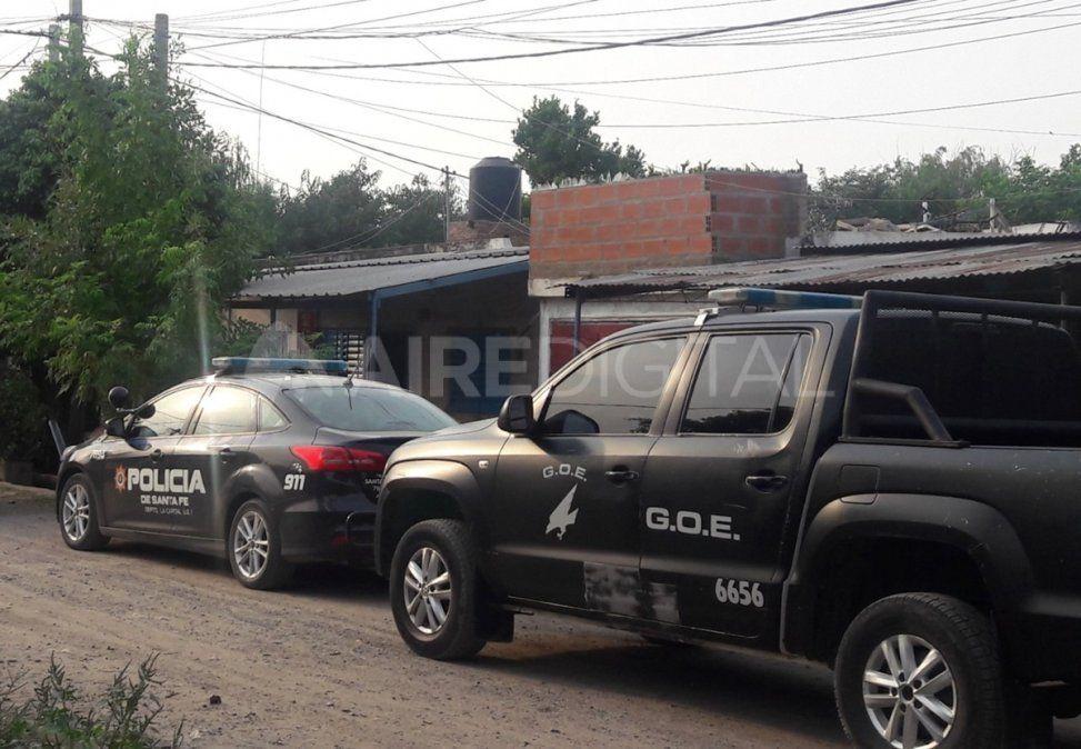 El personal de la Cria. 6ta contó con el apoyo del GOE para proceder a la detención del hombre denunciado