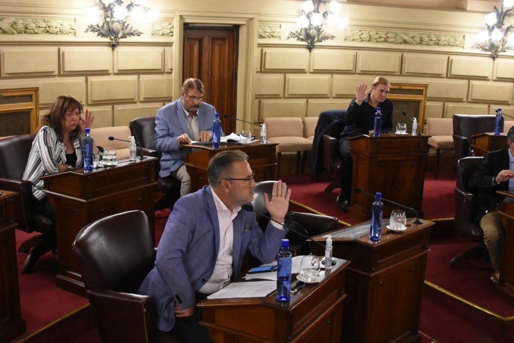 Sesión extraordinaria n° 5 del Senado de Santa Fe.