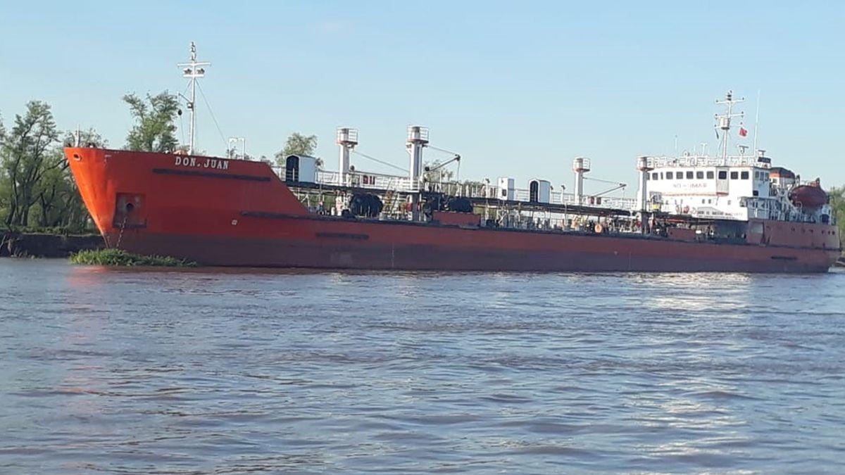 El barco fue secuestrado el 11 de septiembre del año pasado tras un año de investigación.