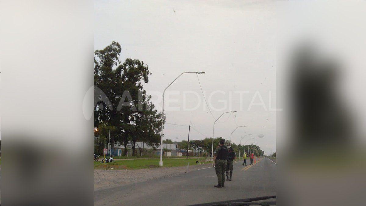 Controles en la ruta 11 y calle Aromos - Sauce Viejo