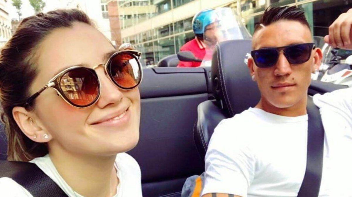 Falleció la novia de Ricardo Centurión producto de un accidente automovilístico