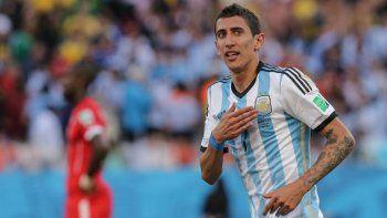 Di María explicó por qué no jugó la final del Mundial de Brasil 2014