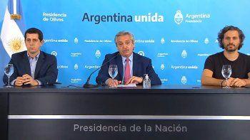 Alberto Fernández anunció nuevas medidas.