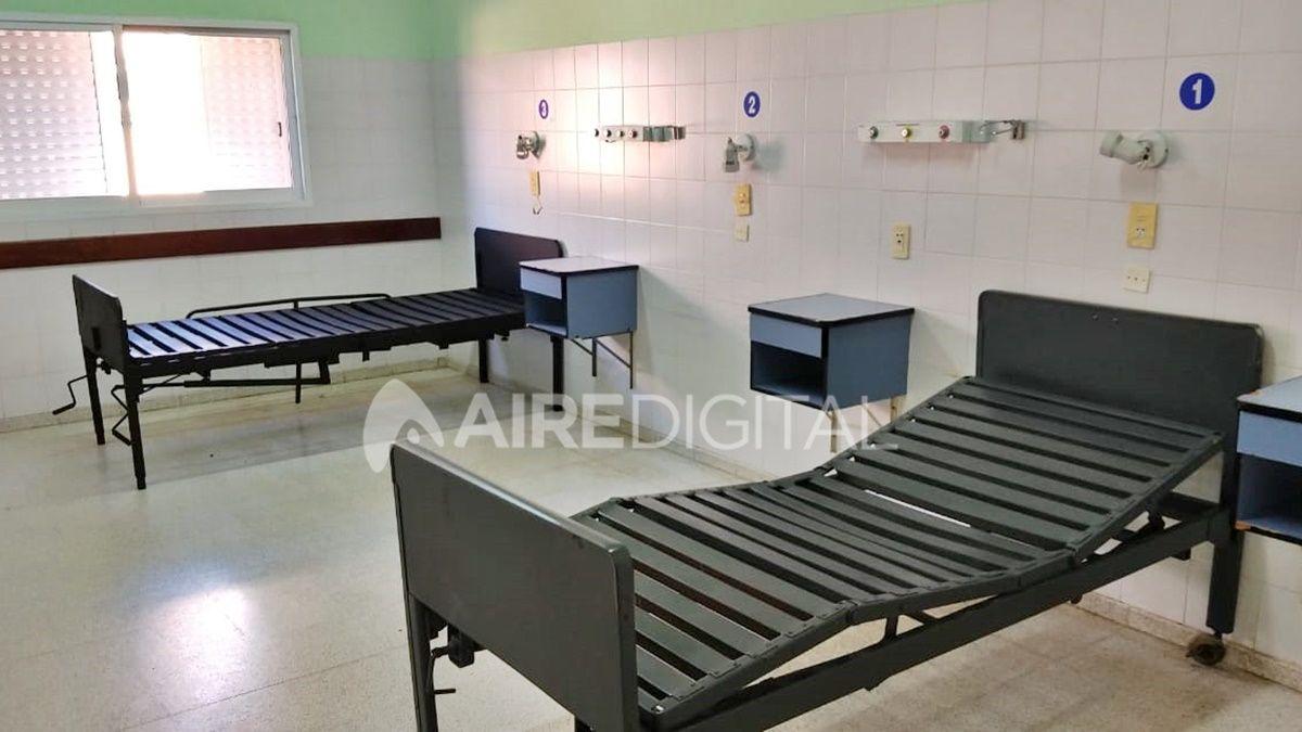 Garantizan 75 camas para pacientes con coronavirus en el ex hospital Iturraspe