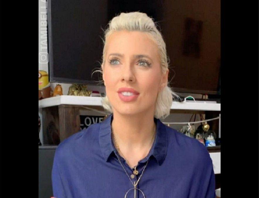 Tamara Bella - la ideóloga del video que posteó en Instagram