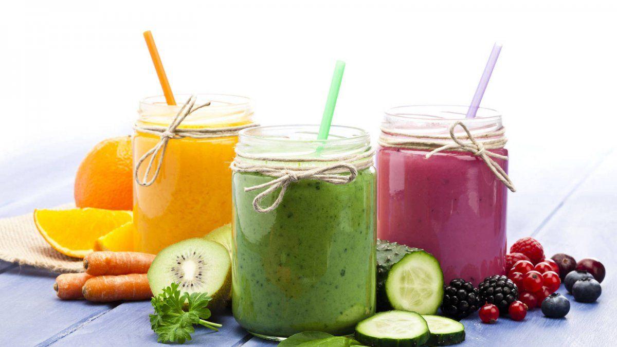 Jugos de frutas para la menopausia.