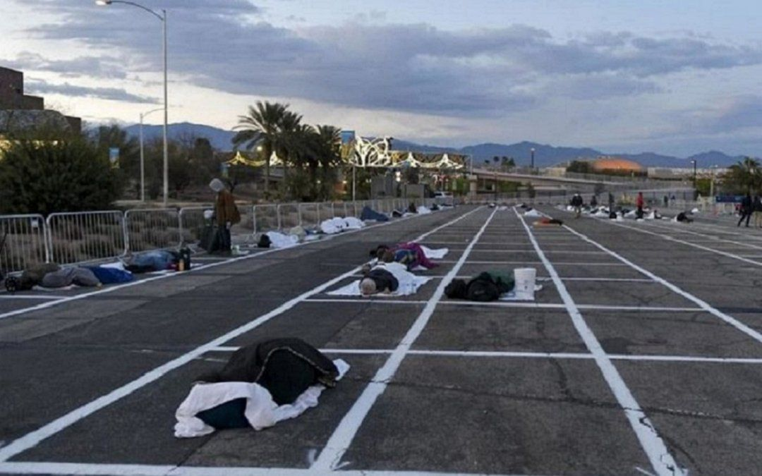 Estacionamiento delCashman Center- Las Vegas