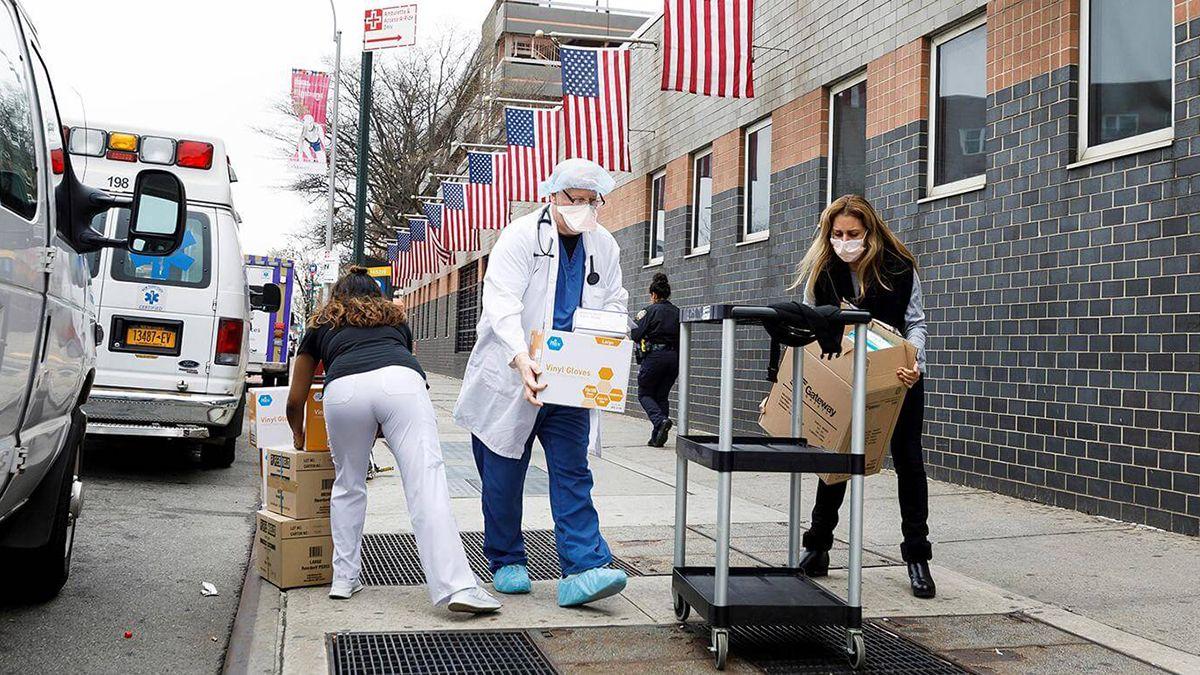 El pronóstico en Estados Unidos por el coronavirus es catastrófico.