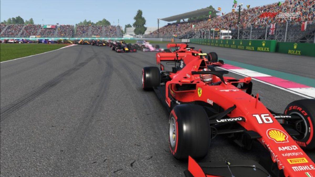 Victoria virtual de Leclerc en el GP de China de Fórmula 1