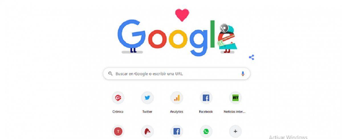 Google publicó su primer Doodle con errores este 7 de abril