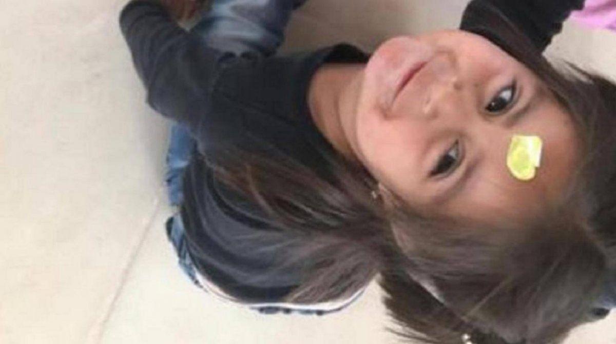 Nahiara tenía 3 años (Foto: Facebook/Anahí Cailotto)