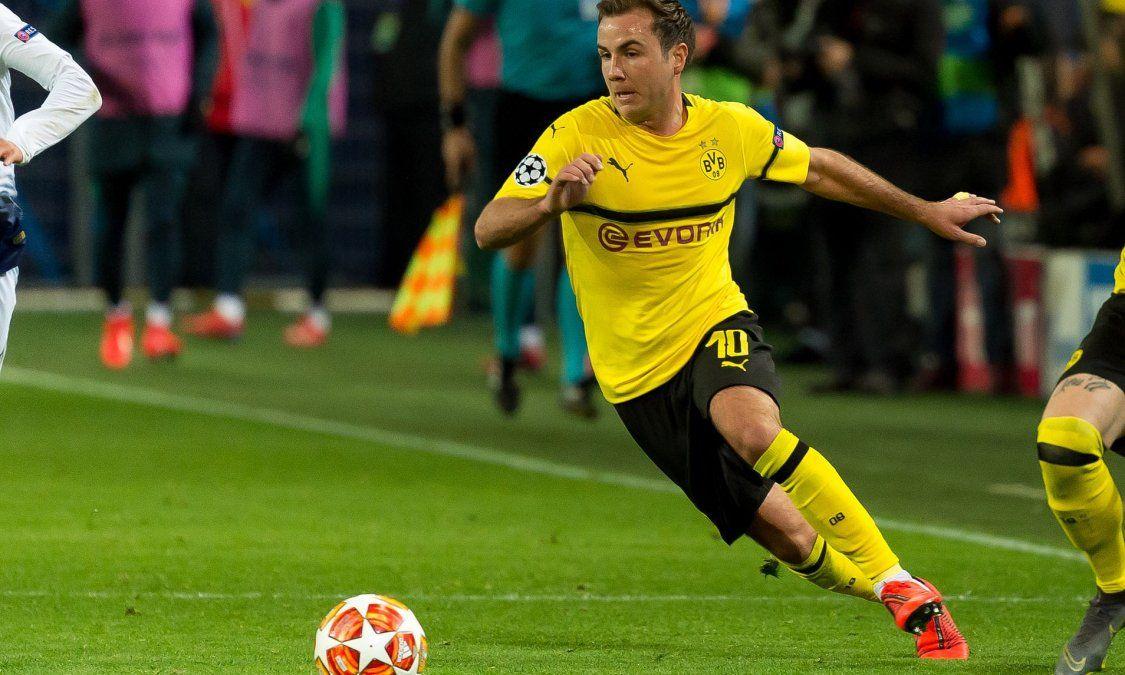 Mario Götze, relegado en el Borussia Dortmund, tendría su futuro en Italia