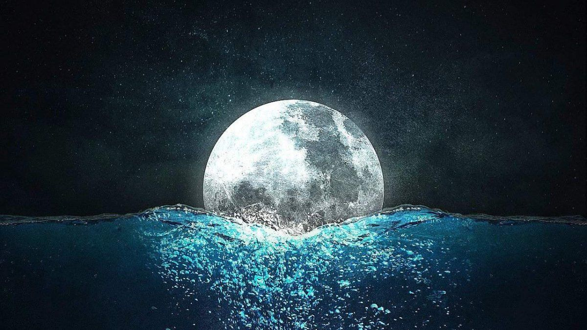 Luna en Acuario