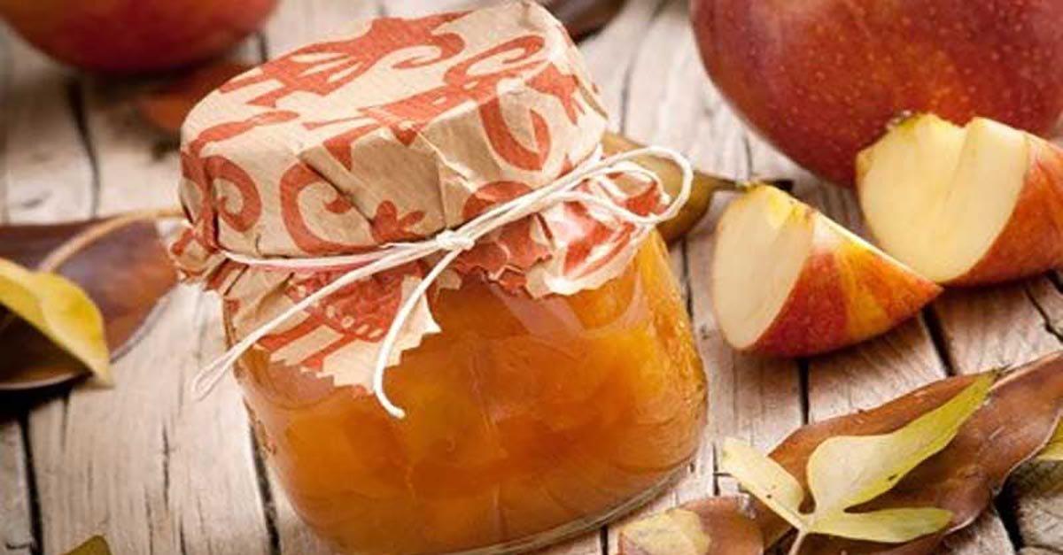 Mermelada de pera y manzana sin cocción.