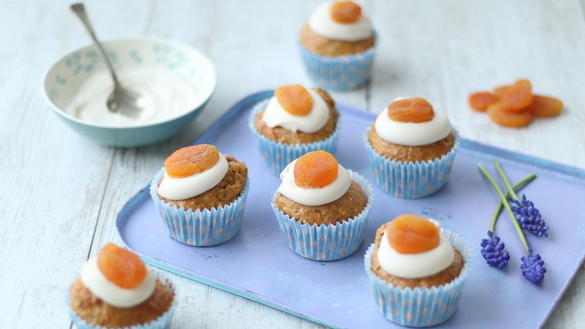Muffins de naranja para la tarde.