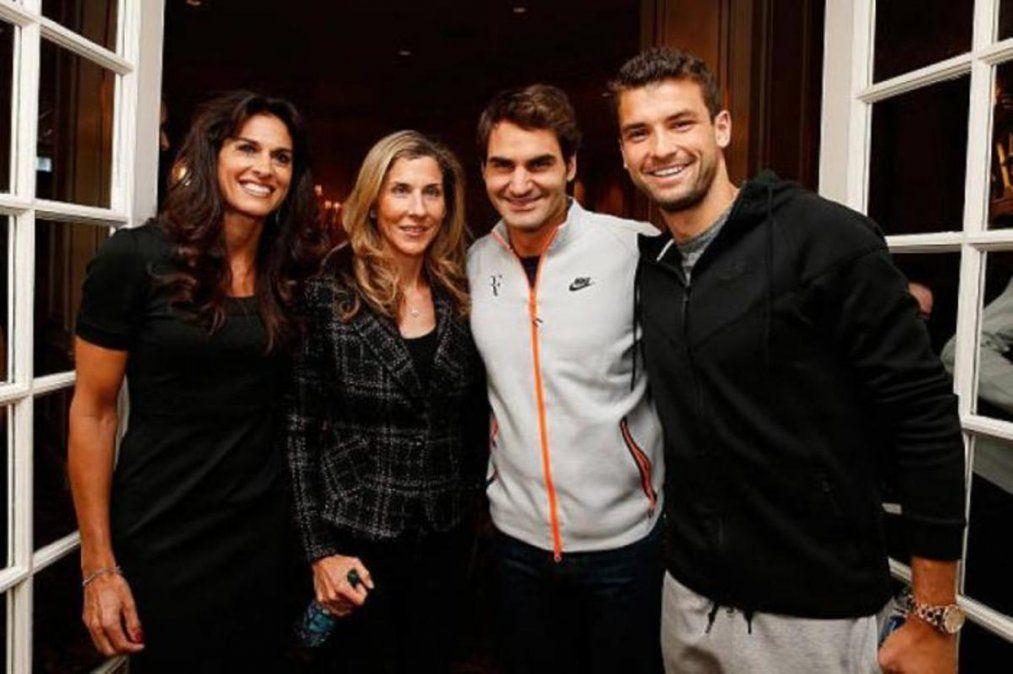 Roger Federer llenó de elogios a Gabriela Sabatini: es una jugadora maravillosa
