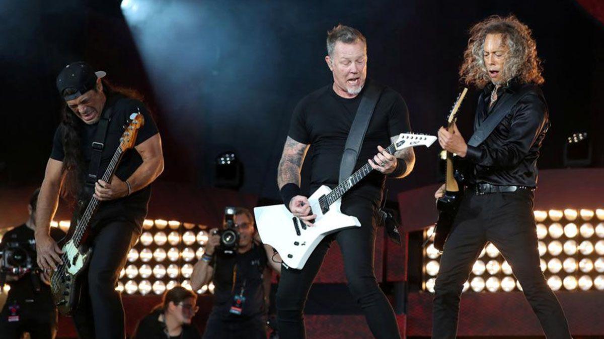 Video: así compartió Metallica en sus redes una actuación para los fans en el aislamiento
