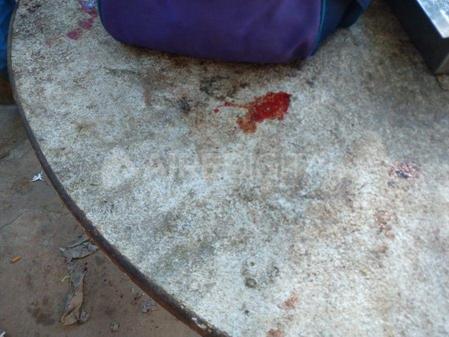 La mujer enferma fue salvajemente golpeada