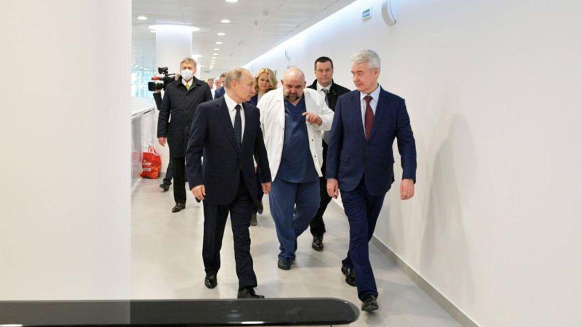 Rusia es el tercer país del mundo por la cantidad de enfermos de Covid-19, con 520.129 infectados