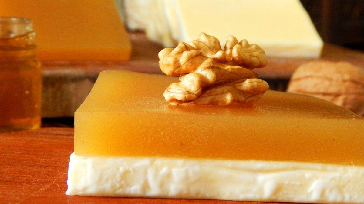 El dulce de batata se puede acompañar perfectamente con queso y lograr un postre delicioso.