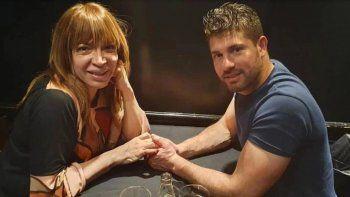 Lizy Tagliani le dijo a su novio que lo extrañaba y él la retó: