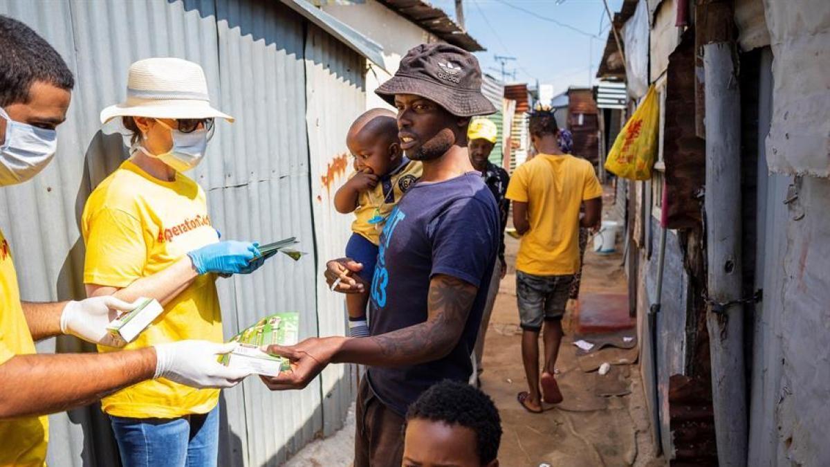 El coronavirus avanza sin piedad por África y preocupa a la OMS.
