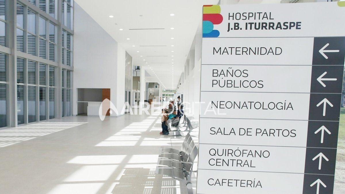 La víctima fue atendida en el Hospital Iturraspe de Santa Fe.