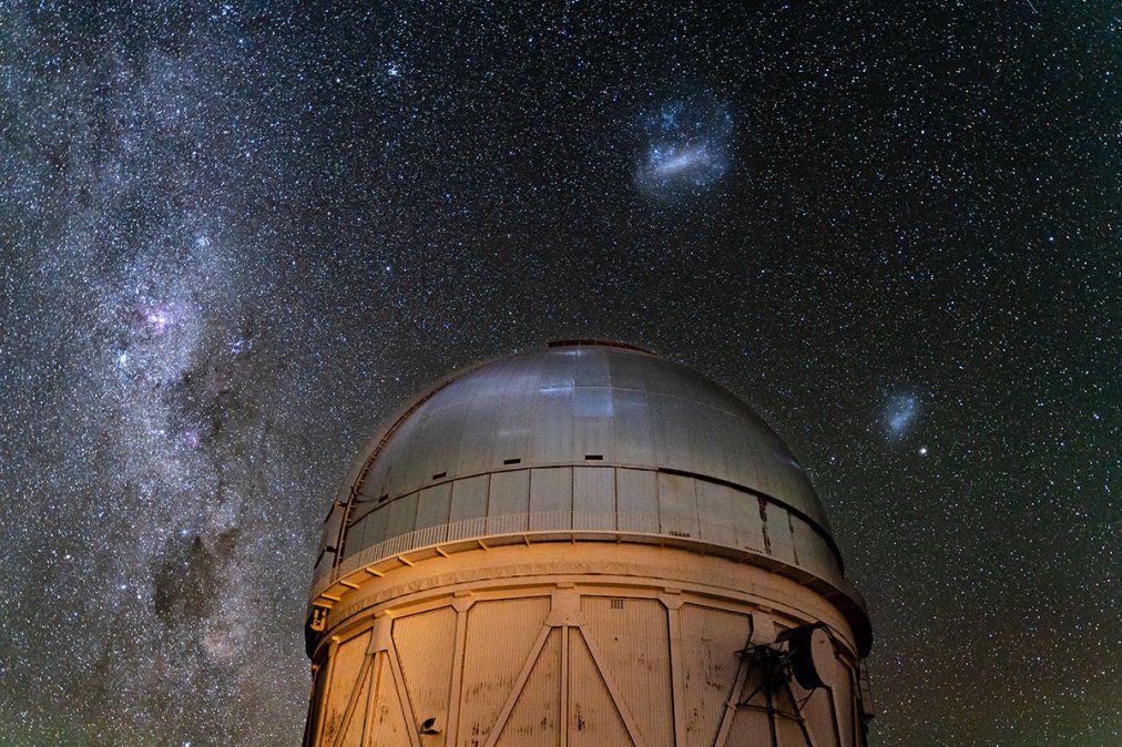 El Universo desde el telescopio Víctor M. Blanco es un telescopio de 4 metros de apertura ubicado en el Observatorio Interamericano del Cerro Tololo