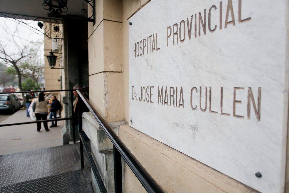La víctima fue trasladada al Hospital José María Cullen