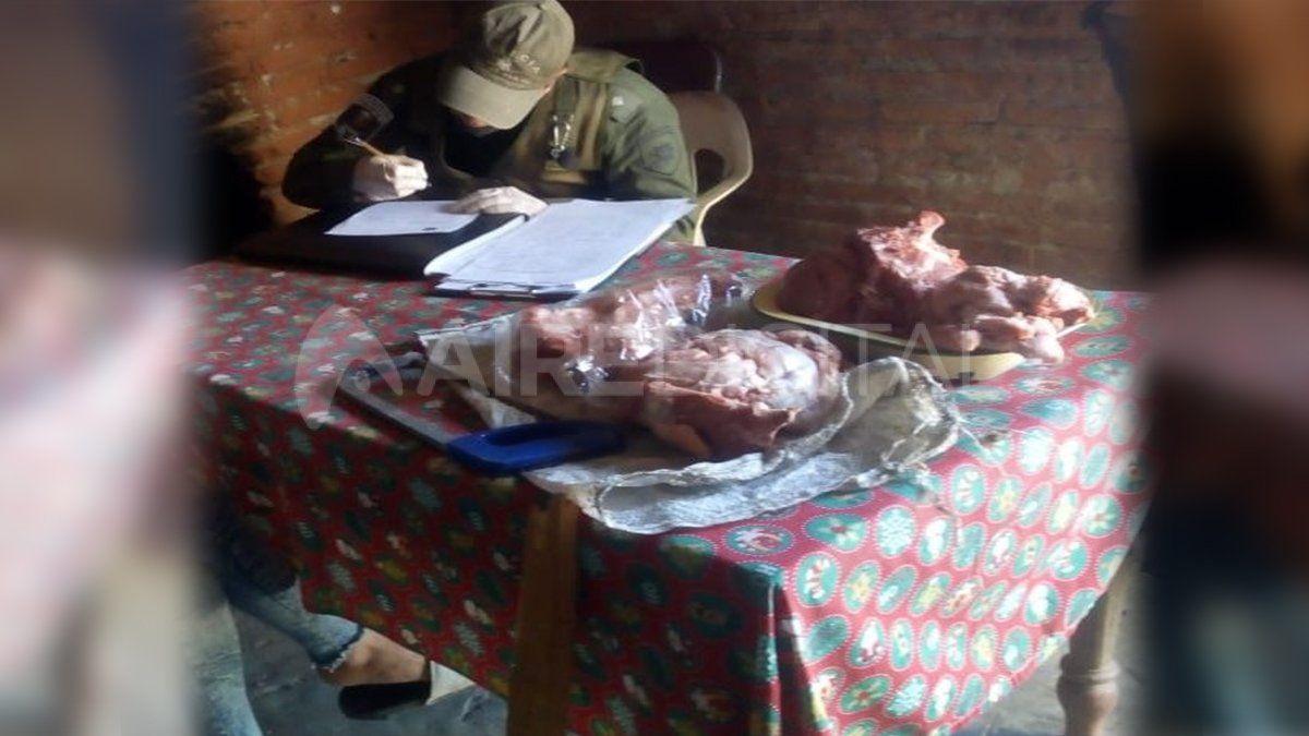 Los Pumas concretaron varios operativos por abigeato y pesca ilegal en toda la provincia