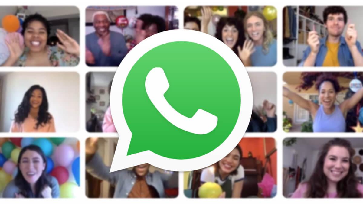 WhatsApp: cómo hacer videollamadas entre 50 personas